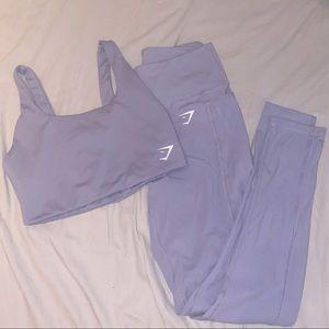 Gymshark Aspire leggings + top SET